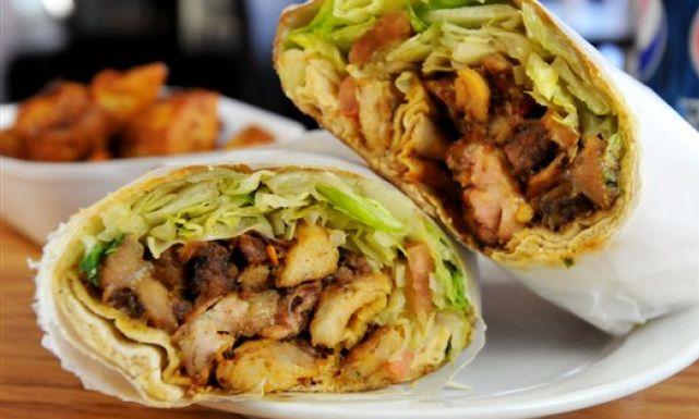 طريقة عمل شاورما الدجاج بالبطاطس Just Food