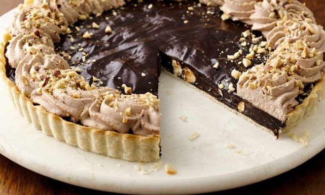 بـ طريقة مختلفة.. تعرفي على طريقة عمل تارت الشوكولاتة اللذيذ