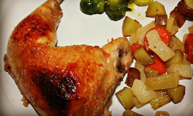 طريقة تحصير صينية الدجاج