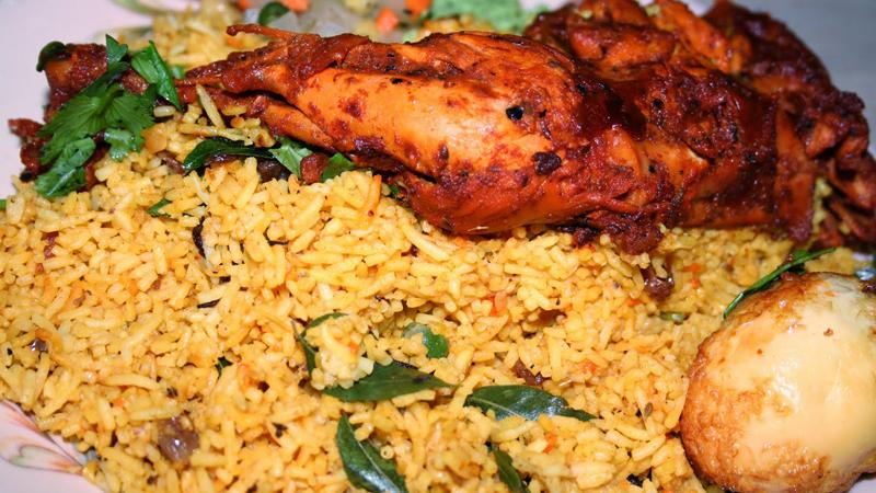 طريقة عمل برياني دجاج هندي حار Just Food
