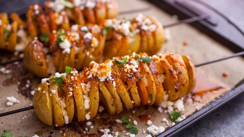 طريقة عمل عيدان البطاطس الحلزونية المقرمشة   Just Food