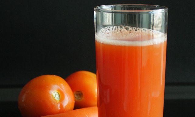 طريقة سهلة  لعصير الطماطم بالجزر لخسران الوزن