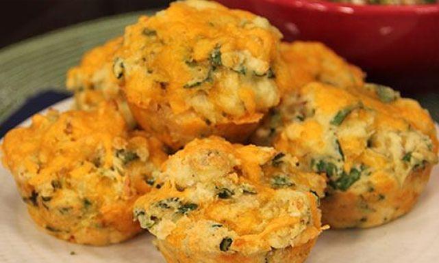 طريقة عمل مافن الدجاج بالجبن التشيدر والسبانخ: وصفات دجاج